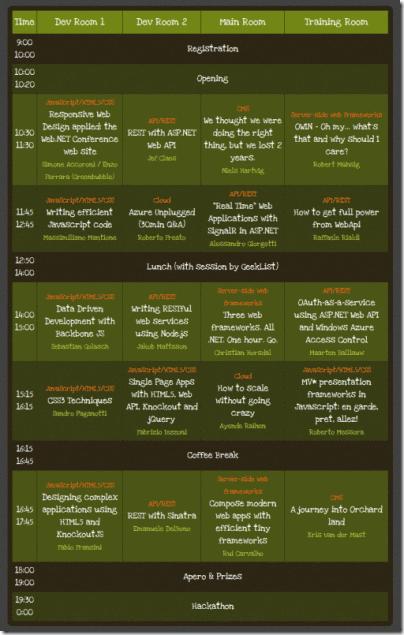 webnetconf-agenda